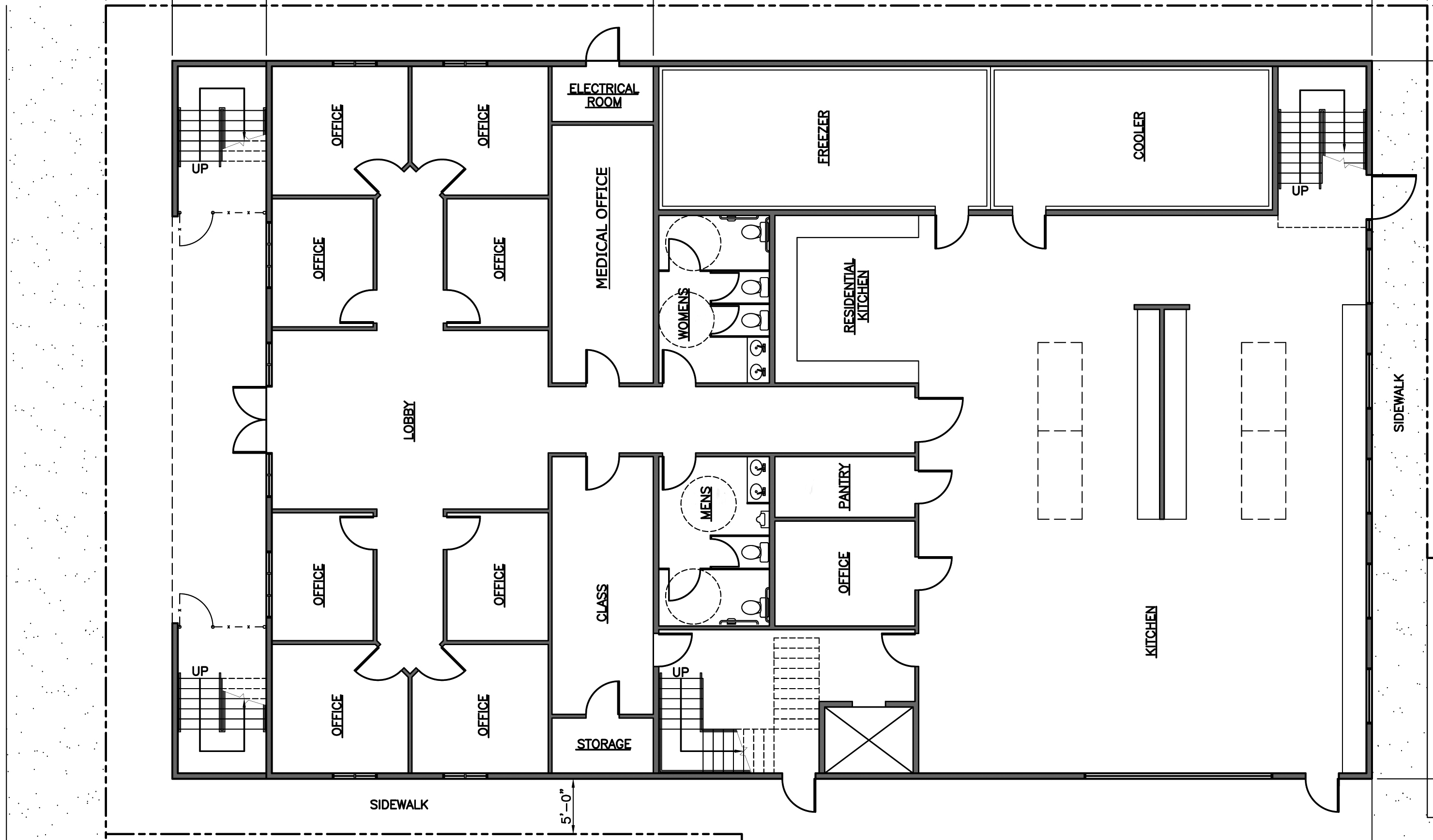 Drawn office software house Hand Drawing Plans By MN