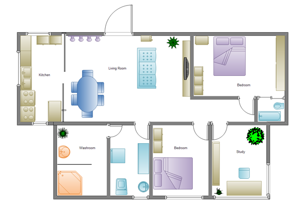 Drawn office software house Home Software Download Plan Examples