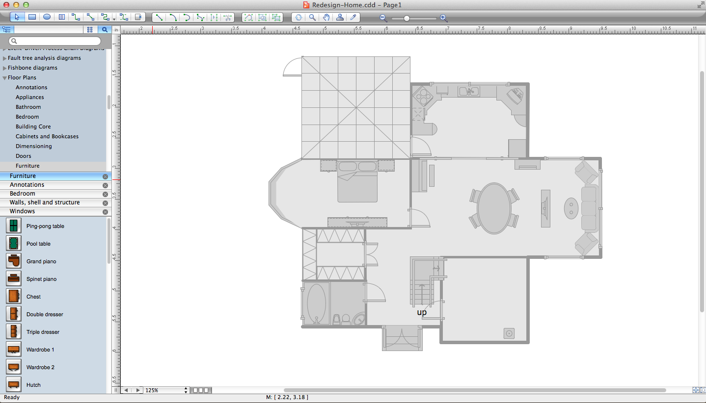 Drawn office software house To Appliances Building use