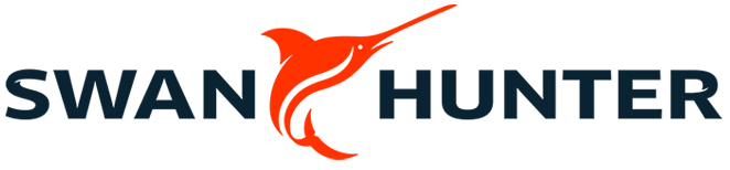 Drawn office swan hunter Management Hunter Specialist logo_03 &