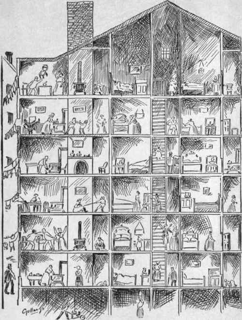 Drawn office tenement York from of of book