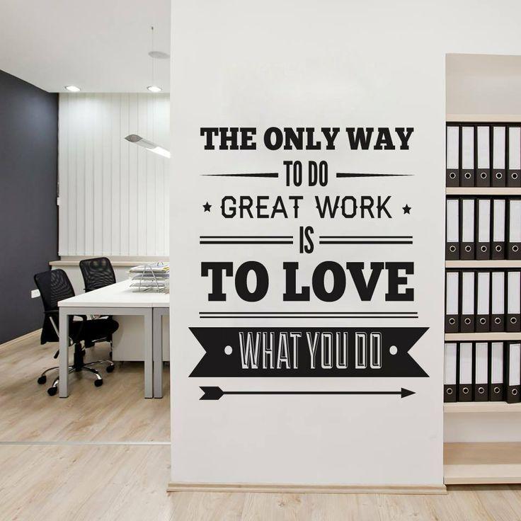 Drawn office wall Ideas art Office Decor Office