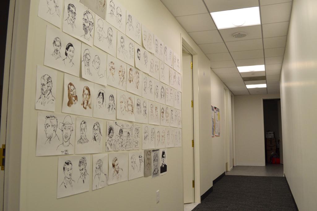 Drawn office wall Free the of Jana's drawn