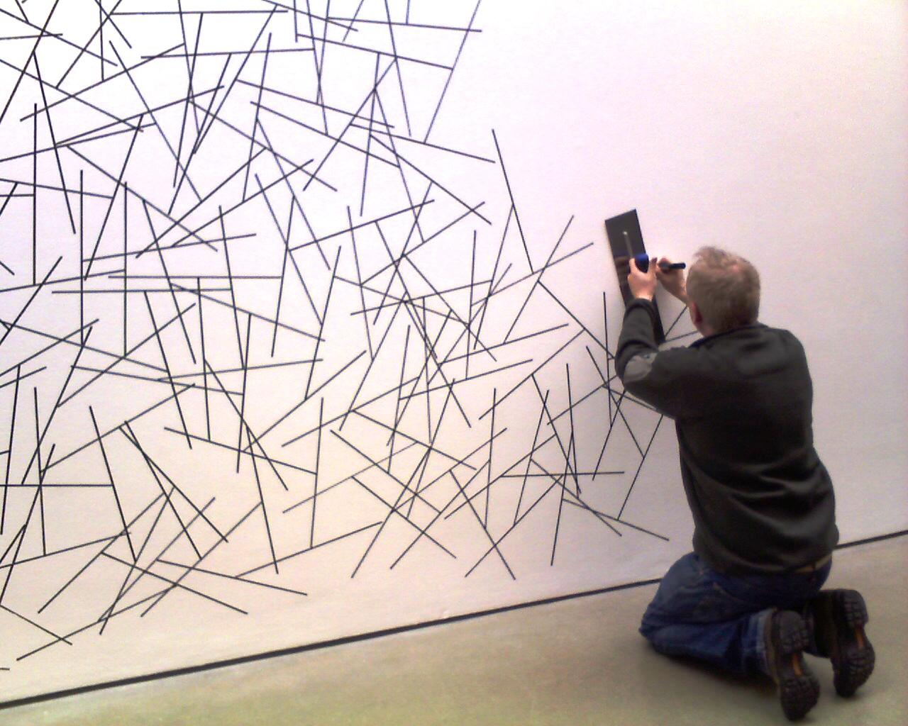 Drawn office wall texture Drawing Pinterest Google lewitt Wall