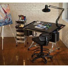 Drawn office workstation  and Printable Pete Party