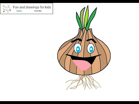 Drawn onion Song draw for funny How