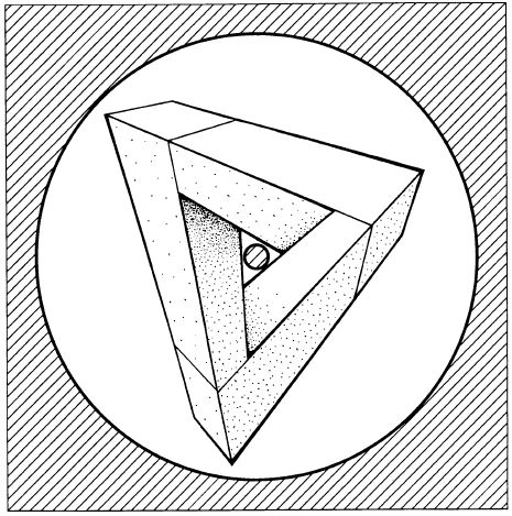 Drawn optical illusion 0ptical Best images triangle 113 Optical