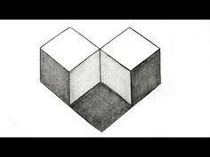 Drawn optical illusion 0ptical Hexagon Artist Penrose Illusions –