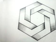 Drawn optical illusion 0ptical 3D –  Optical 3D