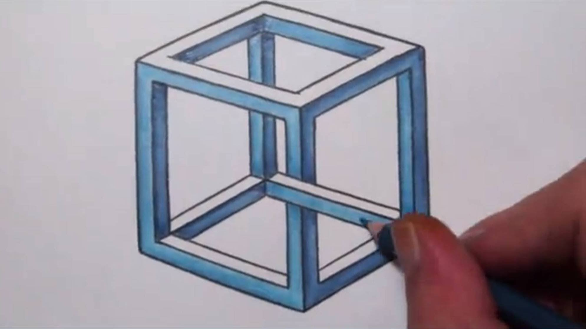 Drawn stare penrose YouTube Impossible To an Draw