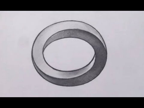Drawn optical illusion Illusions Circle How Draw
