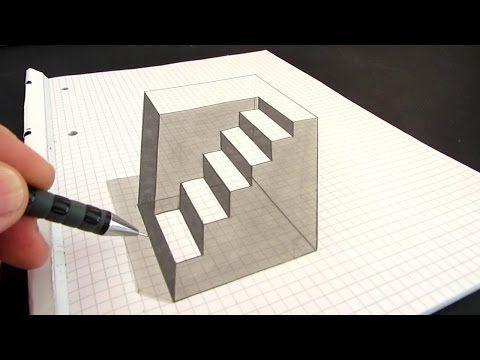 Drawn optical illusion allusion Best Pinterest Optical on art