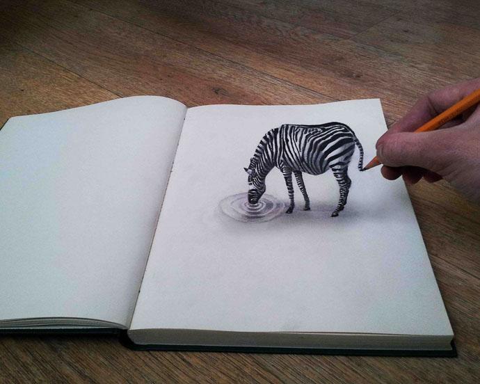 Drawn optical illusion allusion This jpg and fe4dd02540b7b4864297c7f8613c9282
