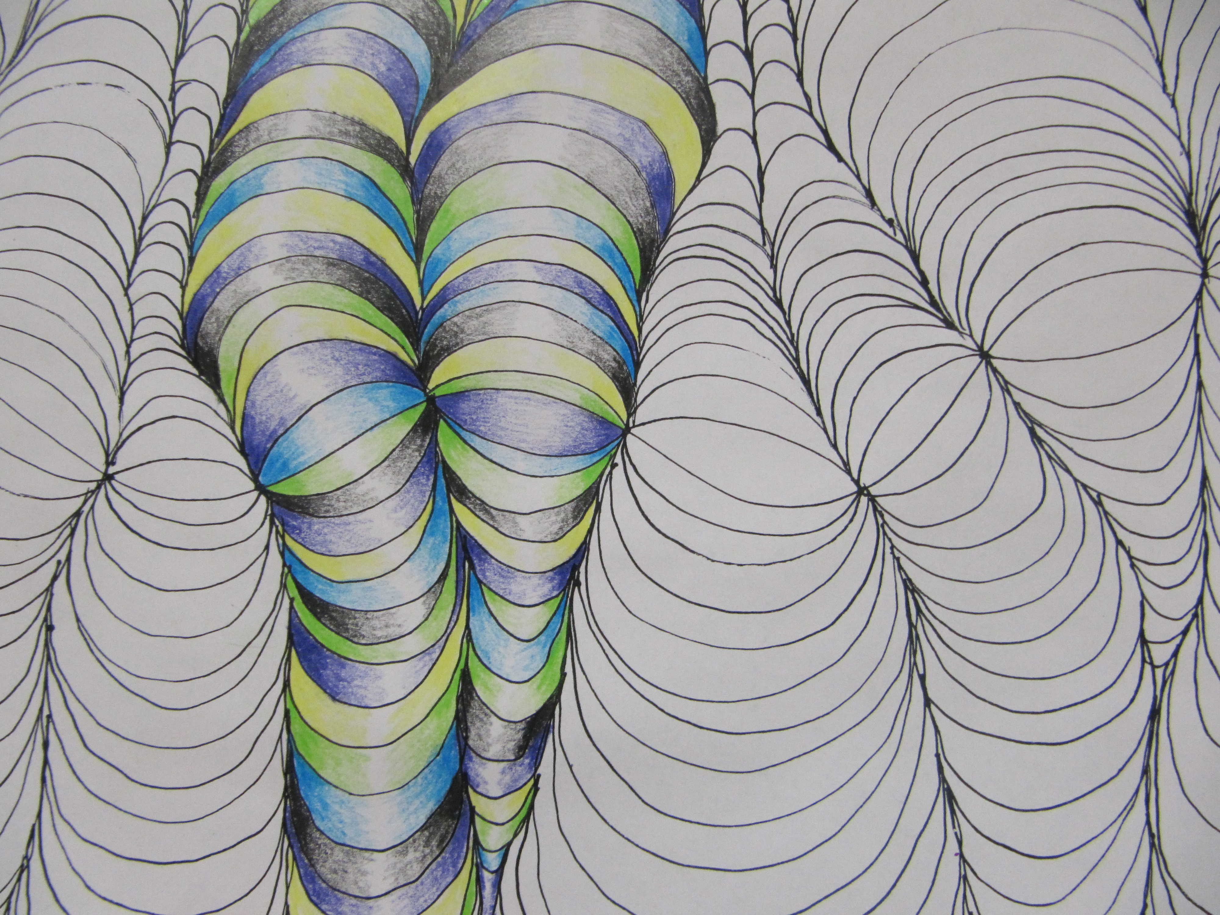 Illusions best E Drawing on