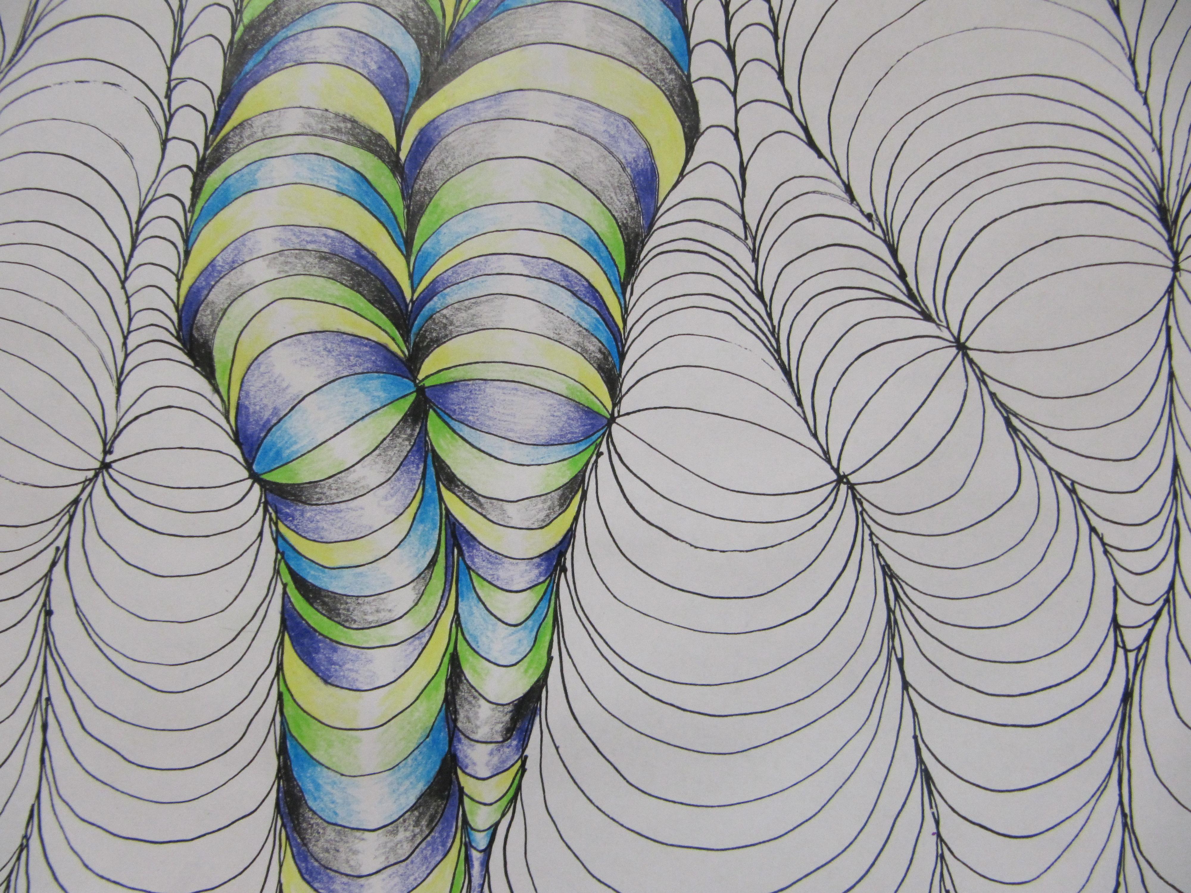 Drawn optical illusion artistic Optical E Mr Illusions Optical