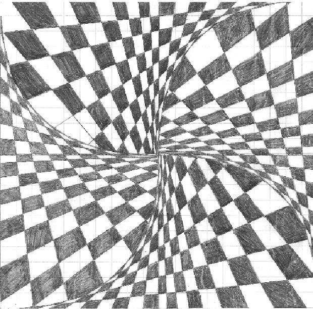 Drawn optical illusion awesome 24 Pinterest on drawing board