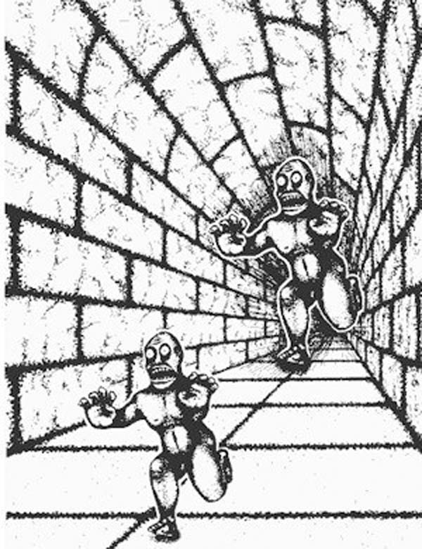 Drawn optical illusion awesome Blow That'll Illusions monsters? Optical