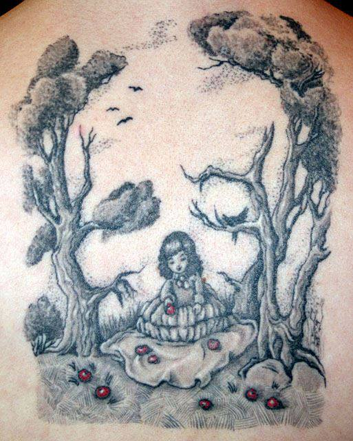 Drawn optical illusion badass By tattoo Skull  nataliaborgia