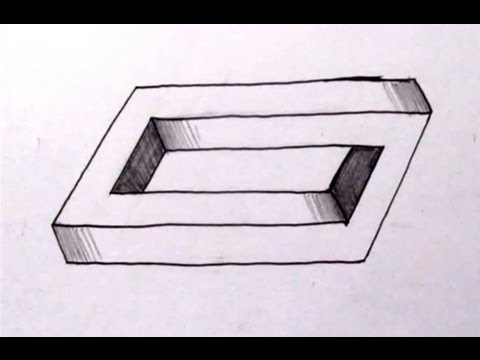 Drawn optical illusion basic Penrose The How The Cool