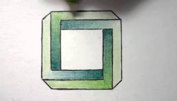 Drawn optical illusion basic Shape Optical Draw an Mindbenders