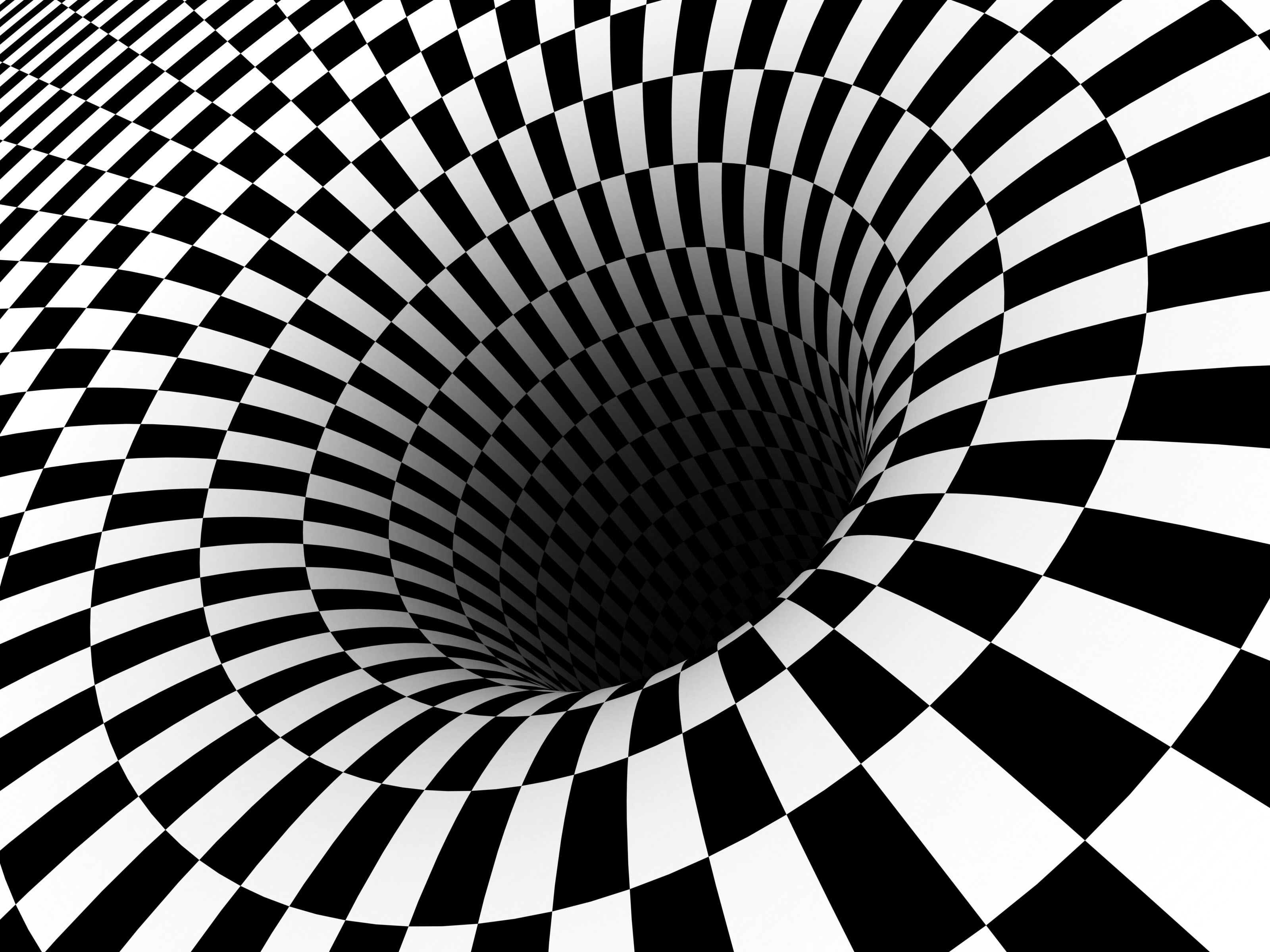 Drawn bus optical illusion #2