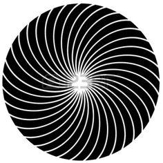 Drawn optical illusion black hole A Illusion Awesome 3D Circle