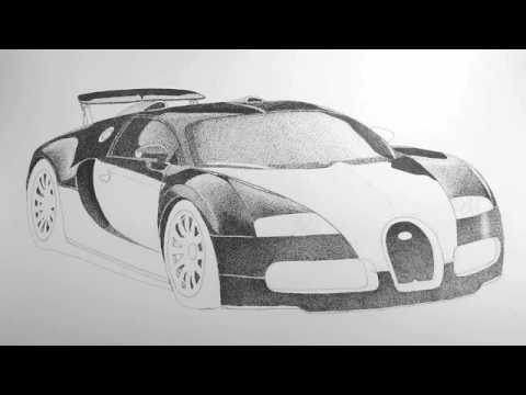 Drawn vehicle bugatti veyron Lesson 6 Bugatti Veyron Drawing
