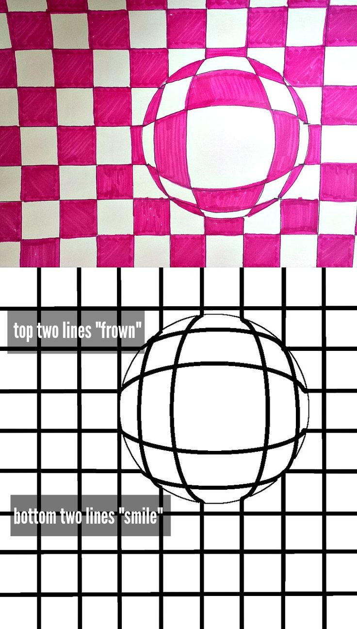 Drawn optical illusion circle About Pinterest classroom images art