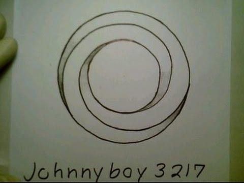 Drawn optical illusion circle Illusion  By The Optical