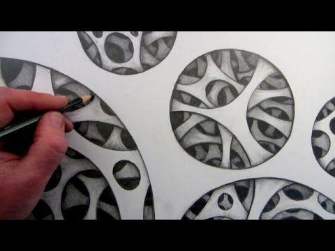 Drawn optical illusion circle 106 about a Illusion Draw