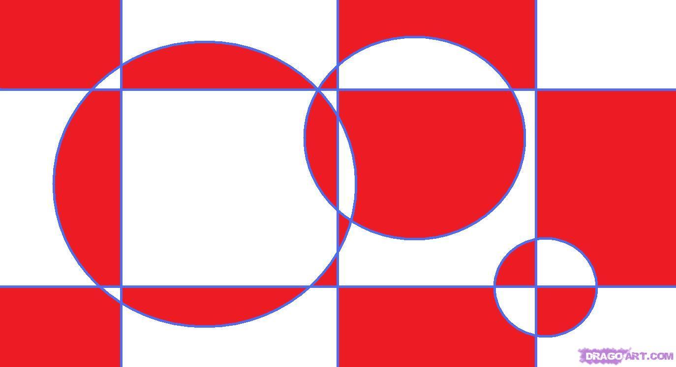 Drawn optical illusion circle How Optical an 3 draw
