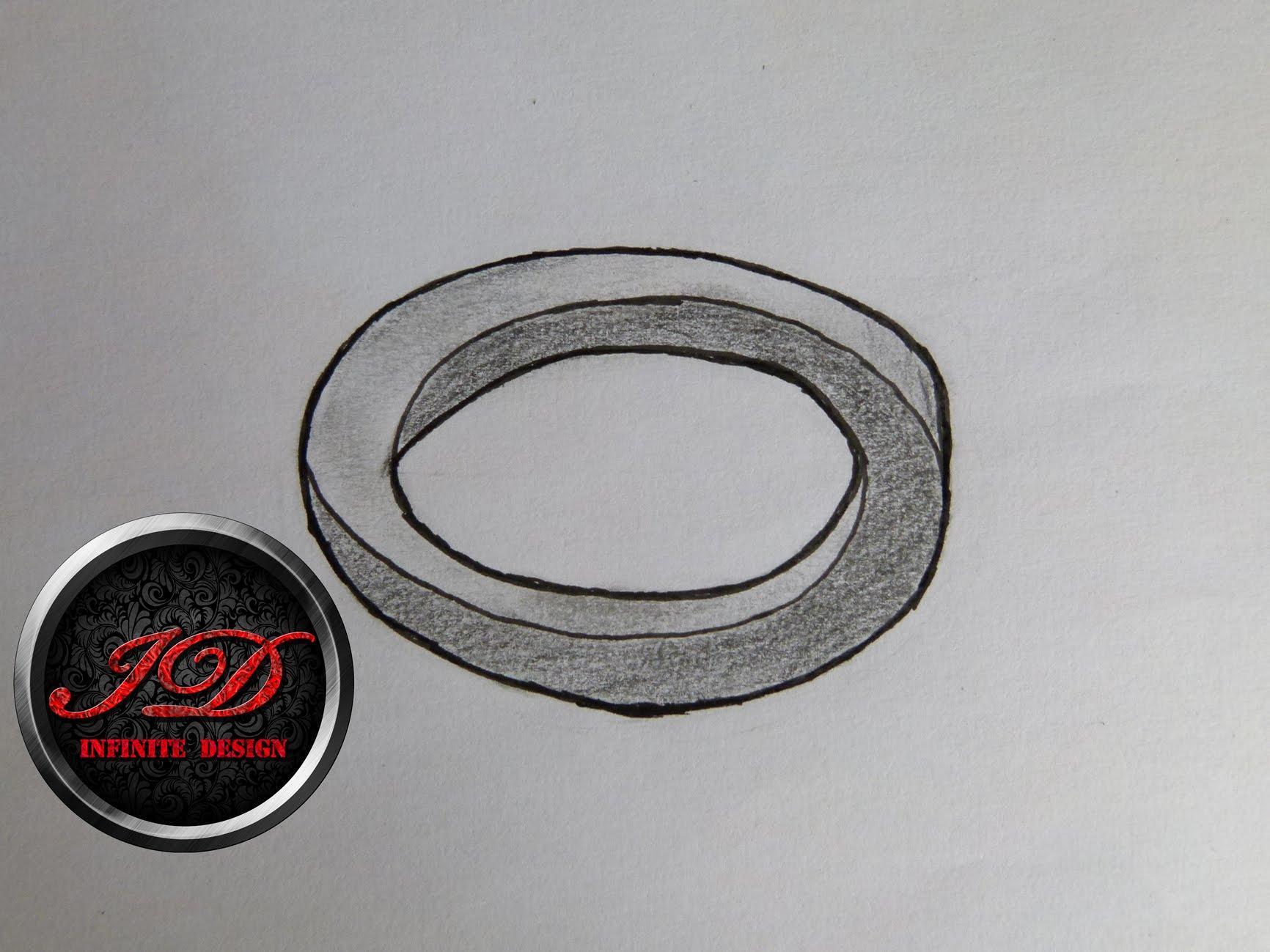 Drawn optical illusion circle Optical To an oval Draw