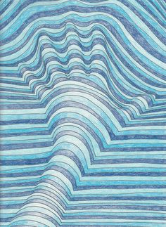 Drawn optical illusion cool pop The Class ideas Optical Art