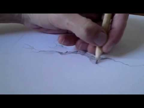 Drawn optical illusion crack How crack a Draw How