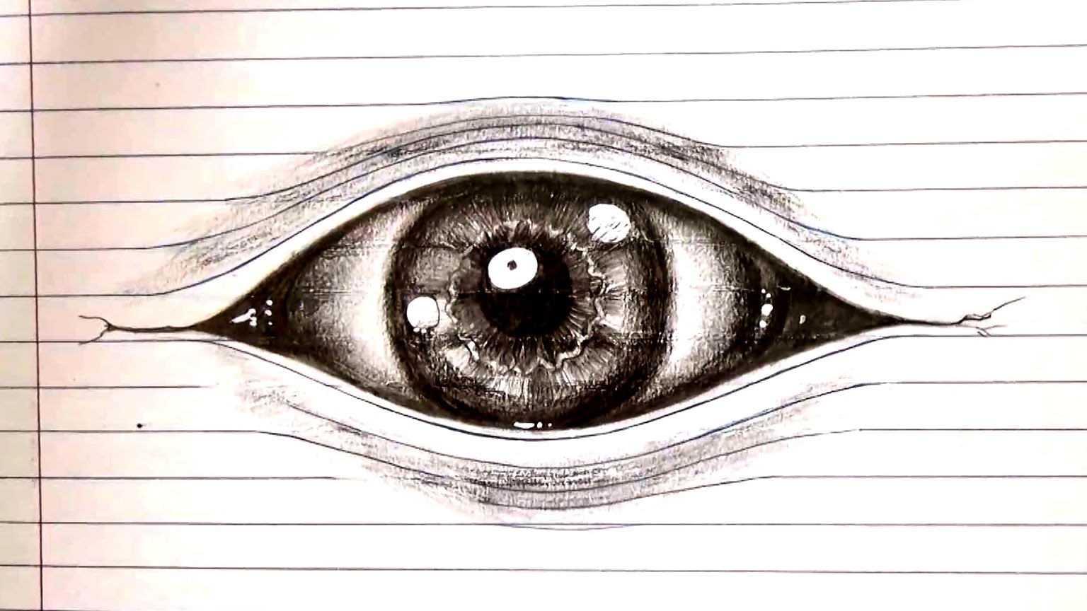 Drawn optical illusion creative ✦how lined Drawing an to
