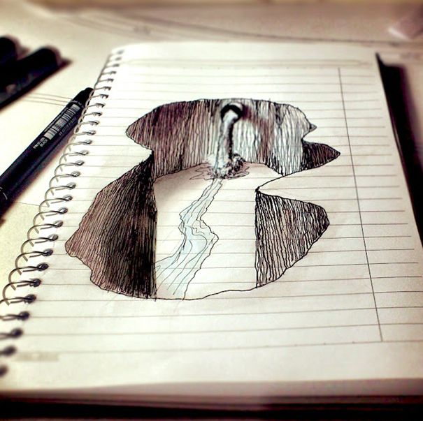 Drawn paper artwork Ideas Best Drawing & on