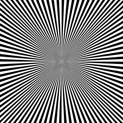 Drawn optical illusion deep Give Inside Or the deep
