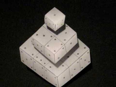 Drawn optical illusion dice Illusion Optical optical Compilation Dice
