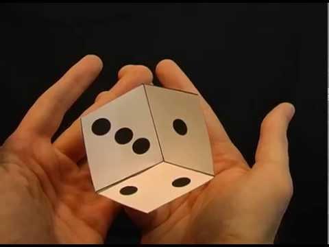Drawn optical illusion dice Amazing This Optical (and Amazing