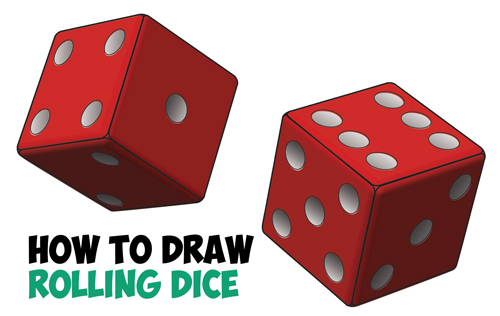 Drawn optical illusion dice Things Tutorial Archives to Draw