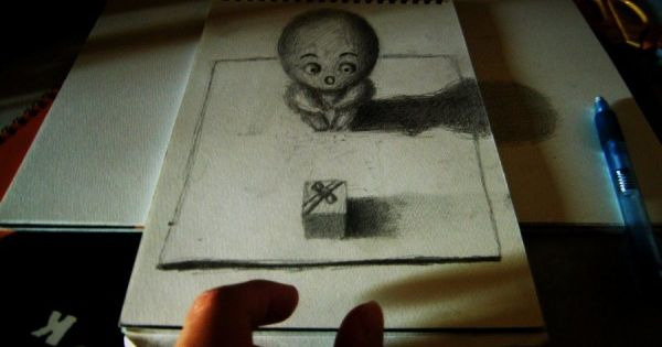 Drawn optical illusion doctor who And Art Illusions 25 Optical