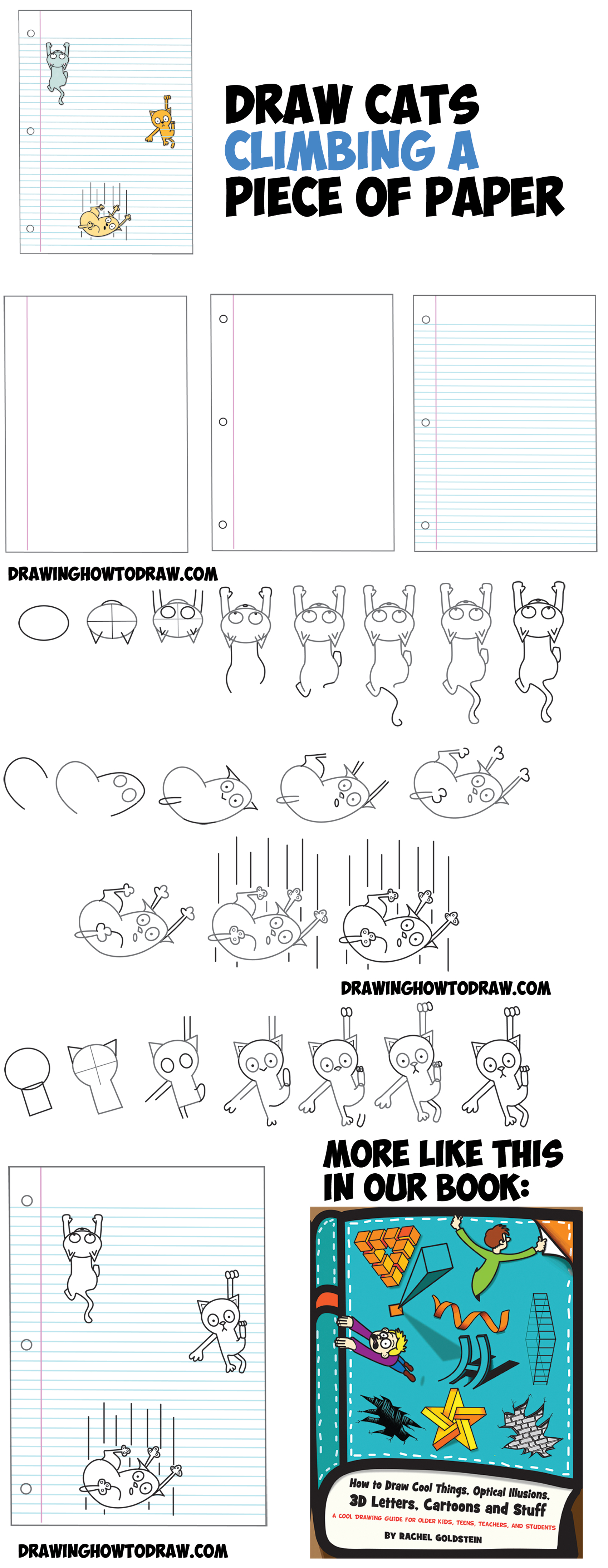 Drawn optical illusion doctor who To Optical Paper Illusion Cats