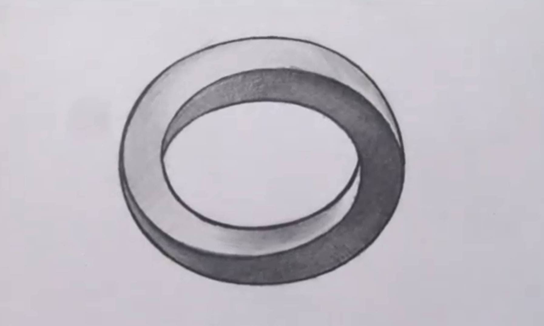 Drawn optical illusion drawable How Oval Three Optical Draw