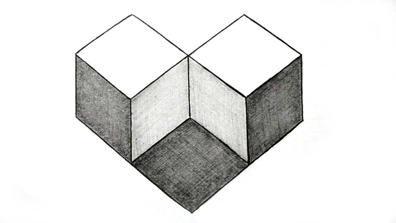 Drawn shapes geometric shape  Geometry How Draw Illusion