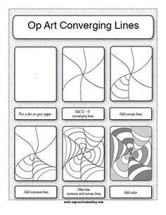 Drawn optical illusion easy Best ideas DrawingsOptical Pinterest PatternsOptical