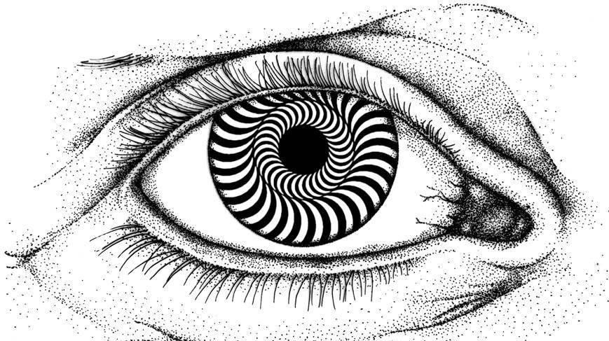 Drawn optical illusion eye trick Discover can How to even