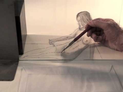 Drawn optical illusion figure drawing Female 3D Pencil Female Illusion: