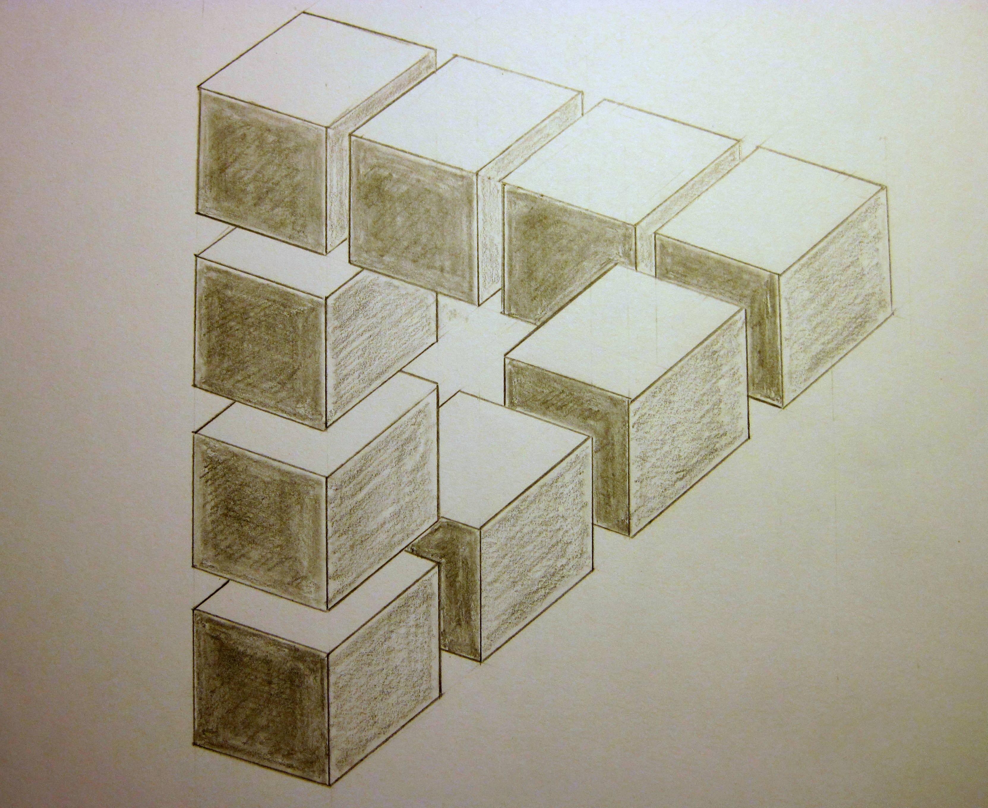 Drawn optical illusion figure drawing Illusions  Optical Find Optical