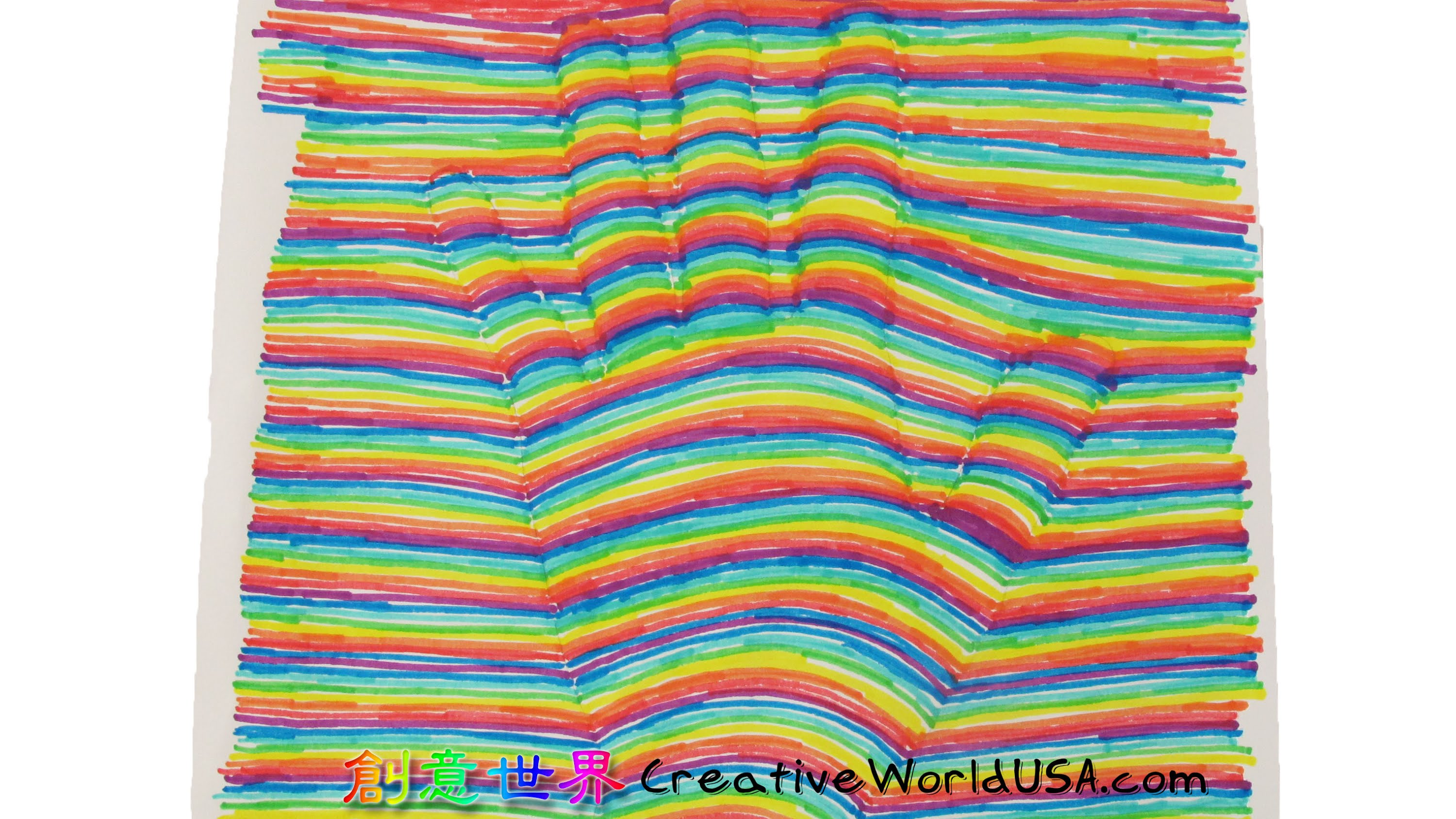 Drawn optical illusion fun easy And YouTube Optical Hand Easy