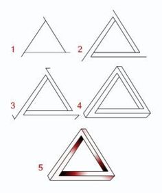 Drawn optical illusion fun easy To own extend past Steps